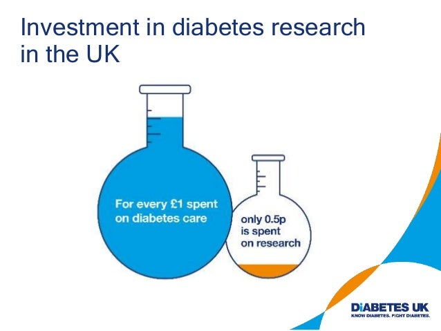Investment in diabetes research in the UK