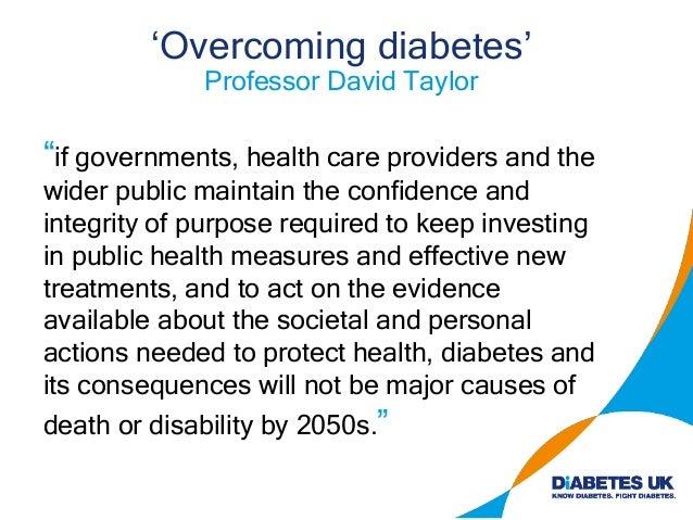 Acknowledgements Profs N. Morgan & S. Richardson, University of Exeter International Diabetes Federation Atlas Prof G. Ray...