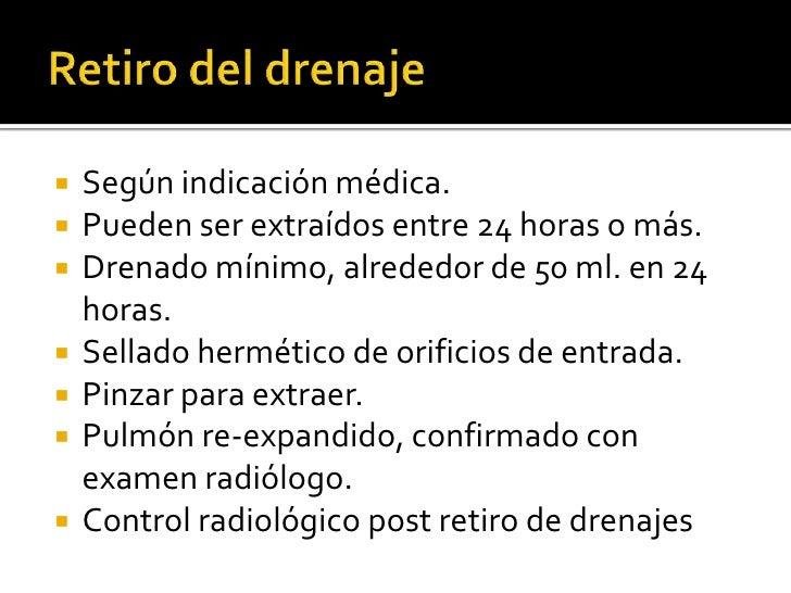    Drenajes pleurales, Manual de patología quirúrgica, Pontificia    Universidad Catolica de Chile Escuela de Medicina.  ...