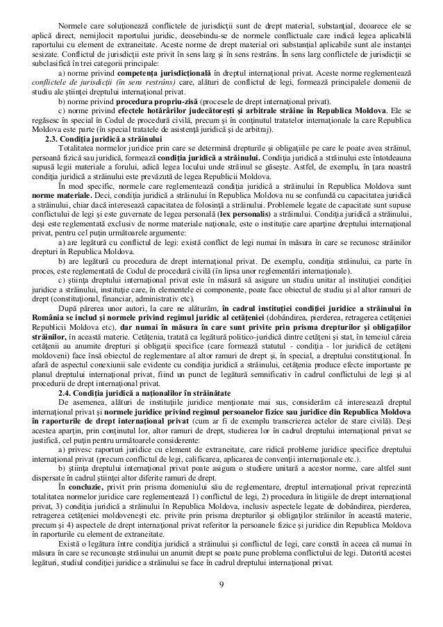 drept international privat Dreptul familiei în context naţional şi în raporturile de drept internaţional privat   capitolul x dispoziţii de drept internaţional privat în domeniul familiei.