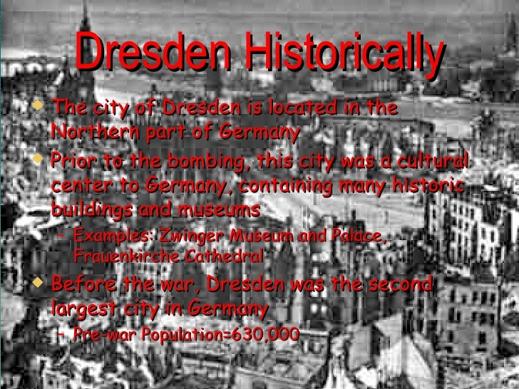 the bombing of dresden On february 13, 1945, allied forces began a massive firebombing of dresden, germany.