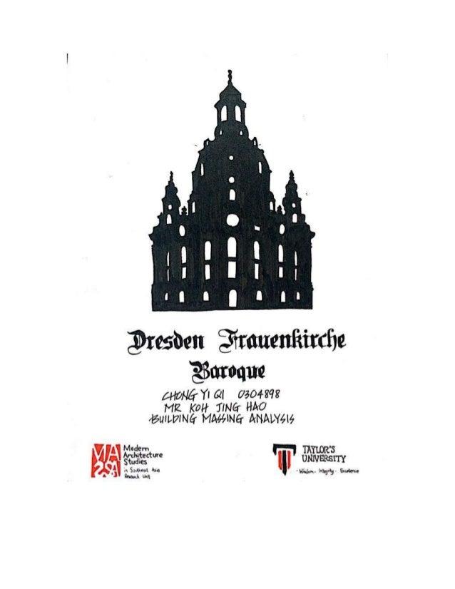Dresden frauenkirche report