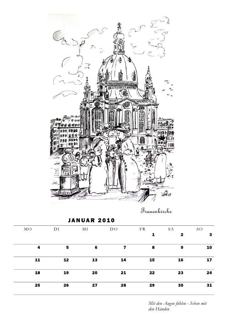 Frauenkirche                 J A N U A R 2 01 0 MO        DI         MI         DO        FR             SA              S...