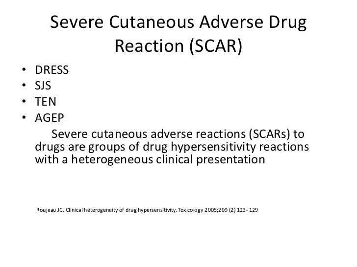 Drug Reaction With Eosinophilia and Systemic Symptoms (Dress) Slide 3