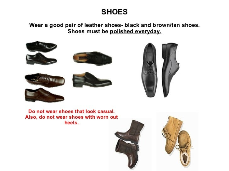 shoes wear a good pair of leather shoes black and