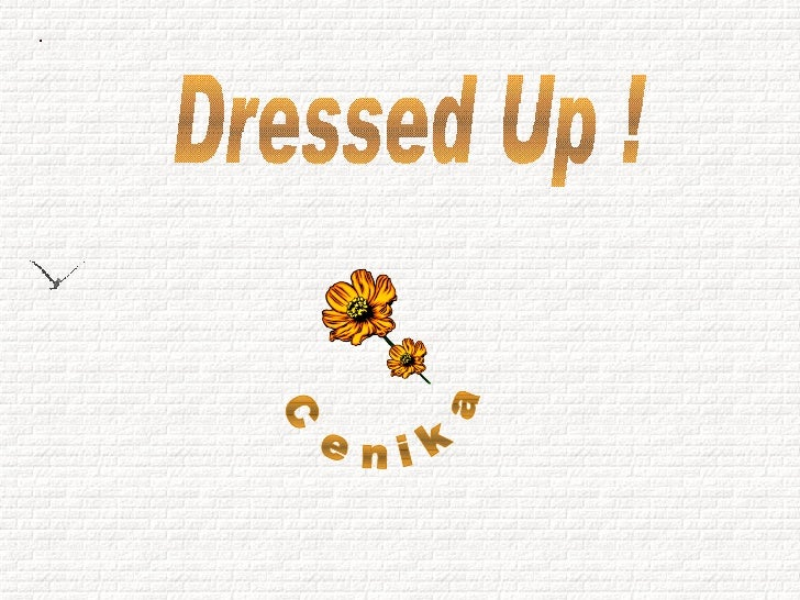 Dressed Up ! Cenika