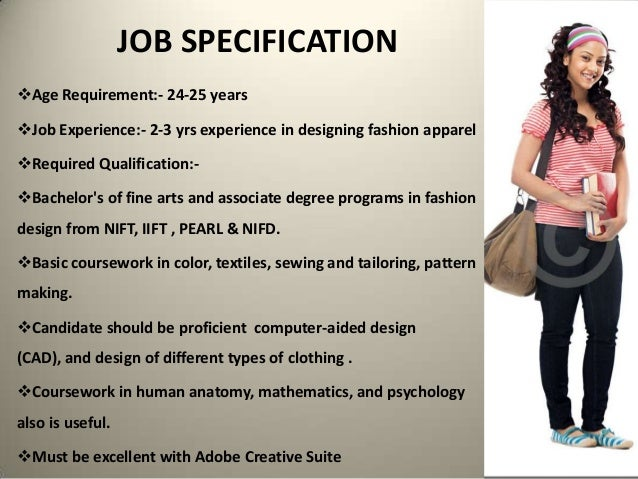 Recruitment Process Of A Fashion Designing Organization
