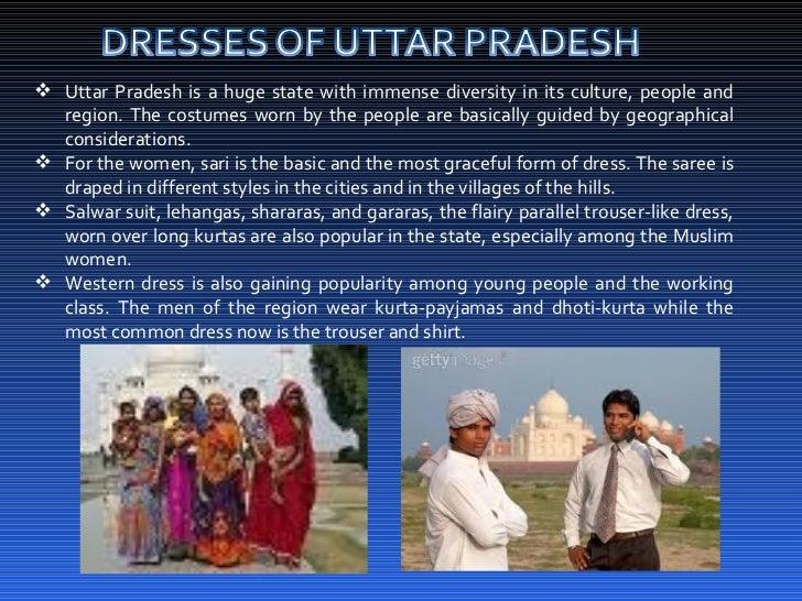 Dresses of india for Cuisines of uttar pradesh