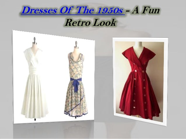 Dresses Of The 1950s - A Fun         Retro Look