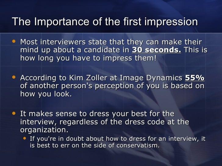 Dress for interview success Slide 3