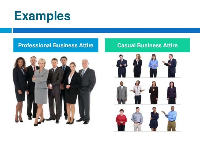 Examples Professional Business Attire Casual