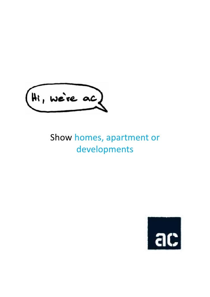 Showhomes,apartmentor     developments