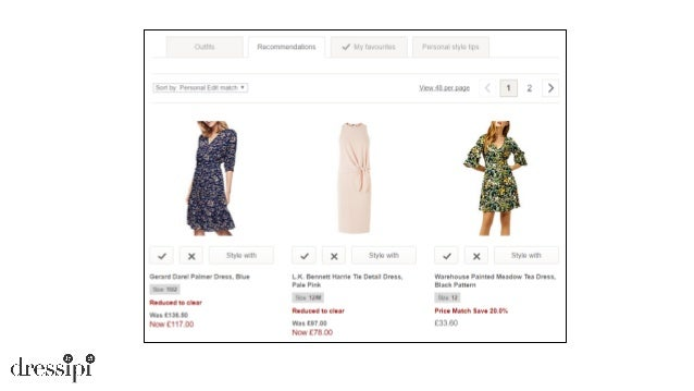 In this talk • Fashion Domain Characteristics • Advice & Recommendation Reasons