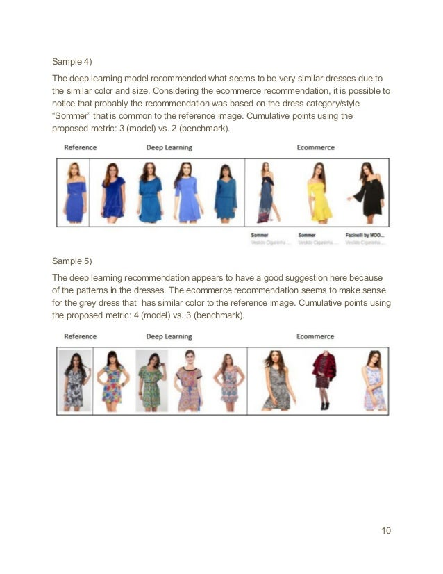 Using Deep Learning to Find Similar Dresses