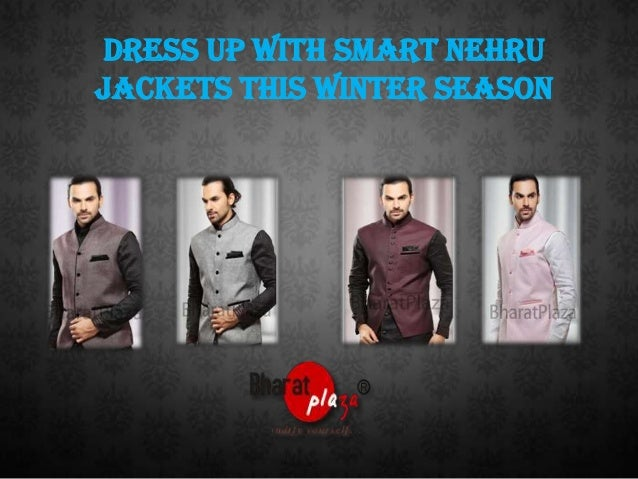 Dress Up With Smart Nehru Jackets This Winter Season
