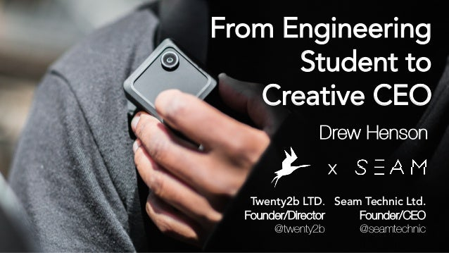 Twenty2b LTD. Founder/Director @twenty2b X Seam Technic Ltd. Founder/CEO @seamtechnic From Engineering Student to Creative...