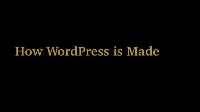 It Takes a Village to Make WordPress Slide 3