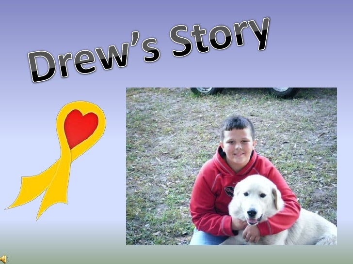 Drew Stockton was diagnosed withEwing's Sarcoma on March 14th,             2010.