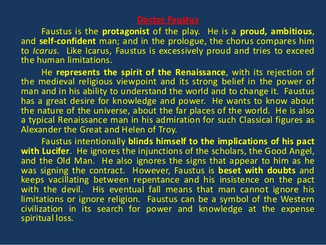 christopher marlowe doctor faustus summary