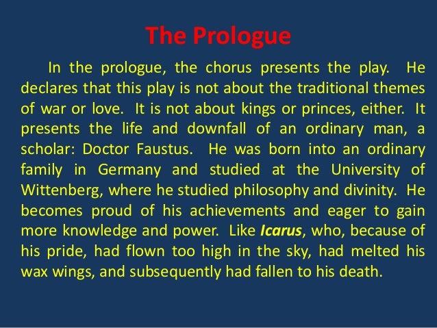 chorus in dr faustus