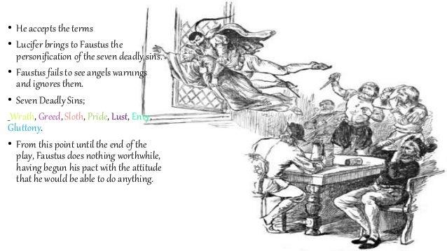 dr faustus seven deadly sins scene