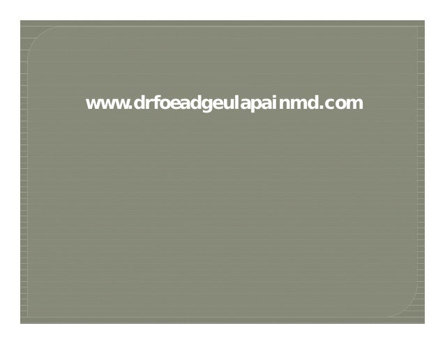 www.drfoeadgeulapainmd.com