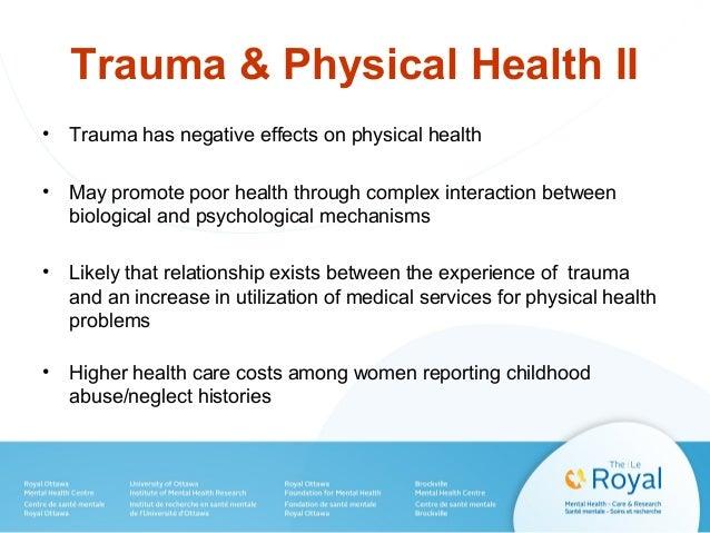 trauma and mental health