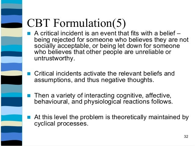 formulations in cbt This page: worksheets - alphabetical (scroll down to pdfs) generic formulations & therapist resources to search this page, use your browser's find function.