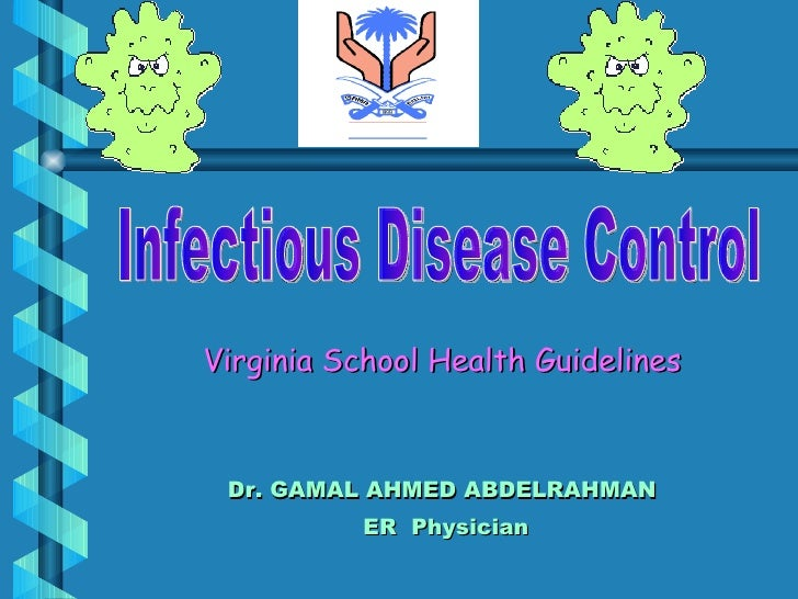 communicable disease guidelines for schools