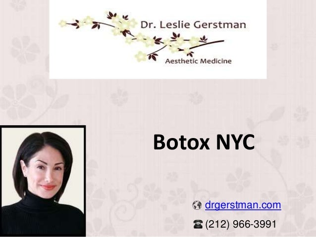 Botox NYC drgerstman.com (212) 966-3991