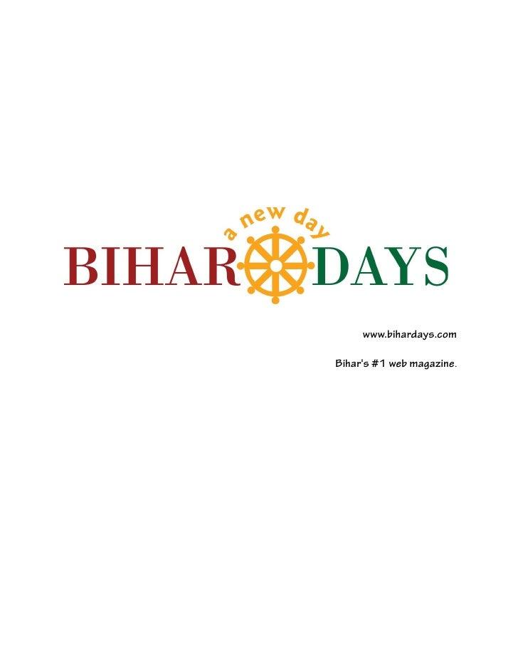 www.bihardays.comBihars #1 web magazine.