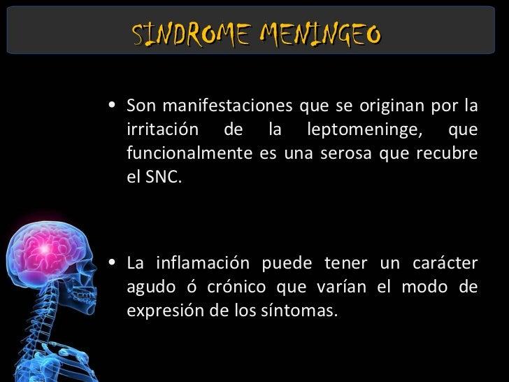 Sindrome Meningeo Slide 2
