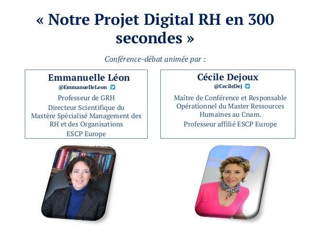 Notre projet Digital RH en 300 secondes Slide 2