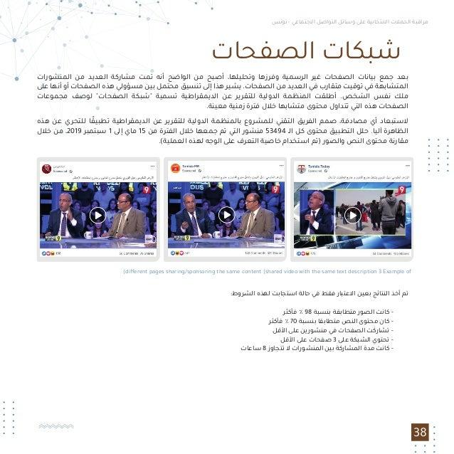 مراقبة الحملات الانتخابية على وسائل التواصل الاجتماعي