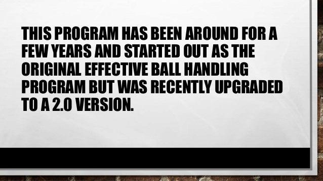 alex maroko effective ball handling pdf