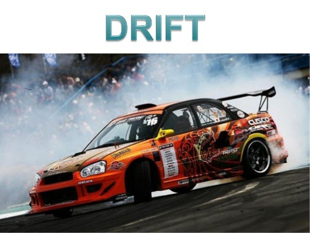 Drifting cars and riders
