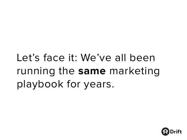 Drift's Marketing Manifesto Slide 2
