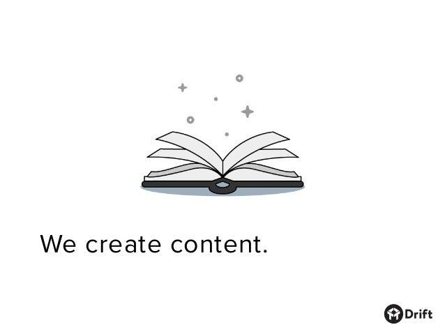 Drift's Marketing Manifesto Slide 3
