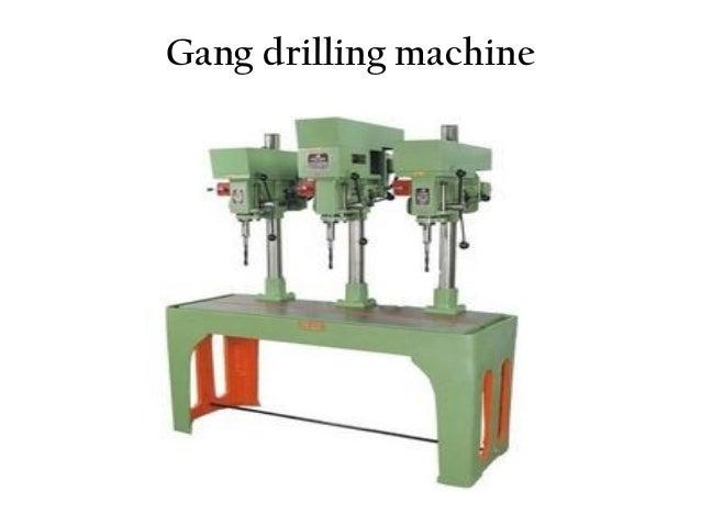 hand drilling machine. part of gang drilling machine hand i