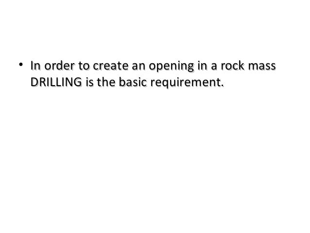 Drilling mining Slide 2