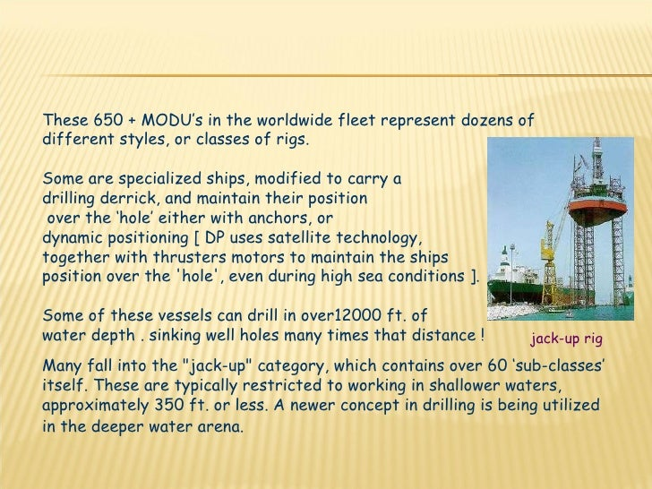 Drilling operation and components Slide 3