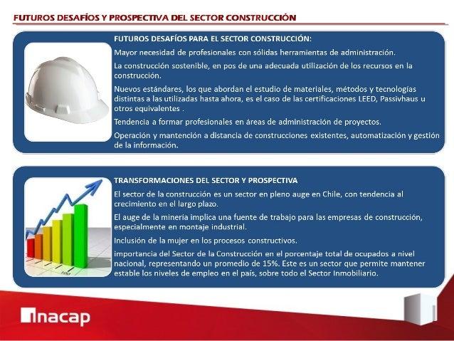 FUTUROS DESAFÍOS Y PROSPECTIVA DEL SECTOR CONSTRUCCIÓN
