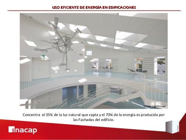 USO EFICIENTE DE ENERGÍA EN EDIFICACIONES                                                                       Green Ligh...