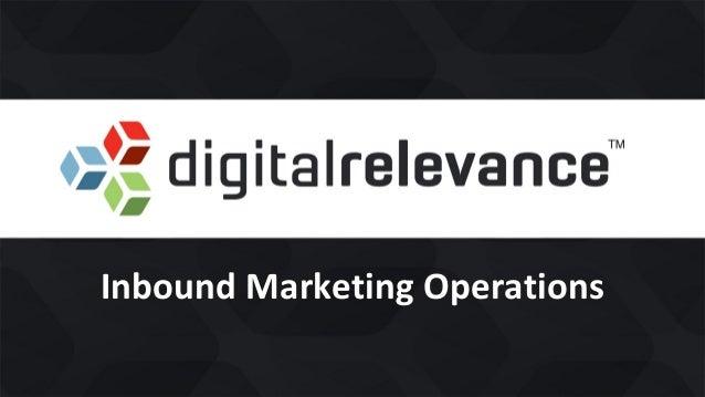 Inbound Marketing Operations