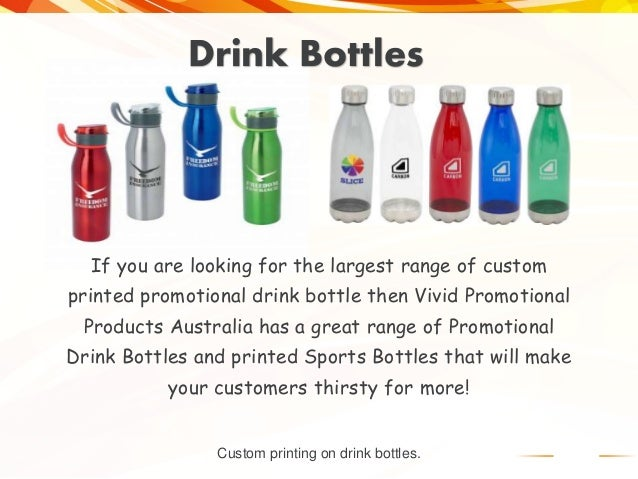 780292f29ba24 Shop For Promotional Drink Bottles From Vivid Promotions