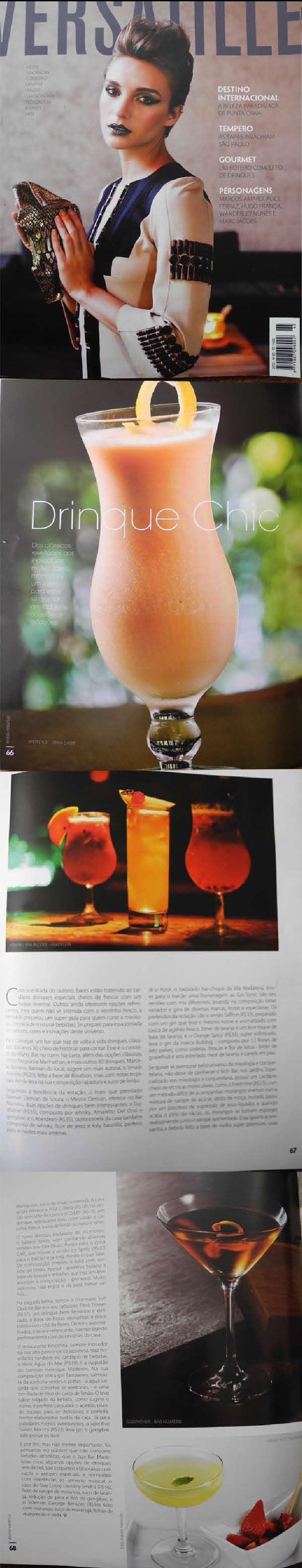 Drink Chic Revista Versatille Abril n. 65