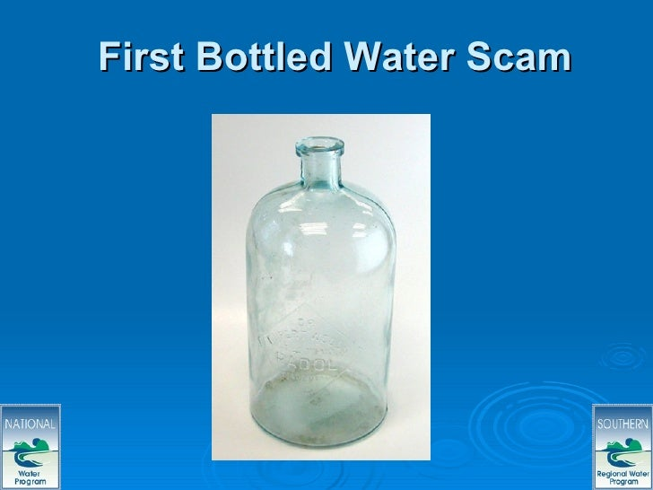Drinking Water Scams Regional Ppt Web