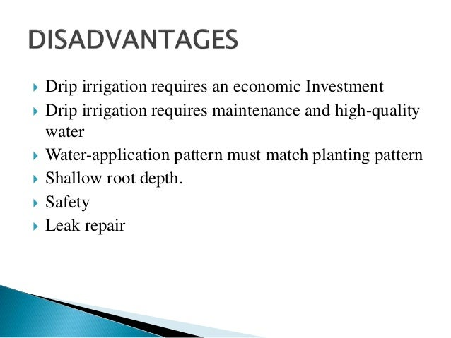 Drip Irrigation Waseem Ppt