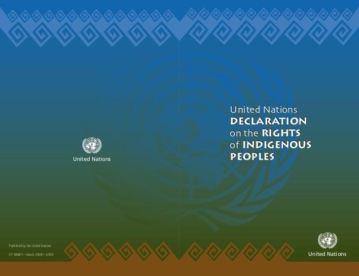 United Nations                                                   Declaration                                              ...