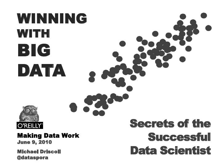 WINNING<br />WITH<br />BIG <br />DATA<br />Secrets of the Successful<br />Data Scientist<br />Making Data Work<br />June 9...